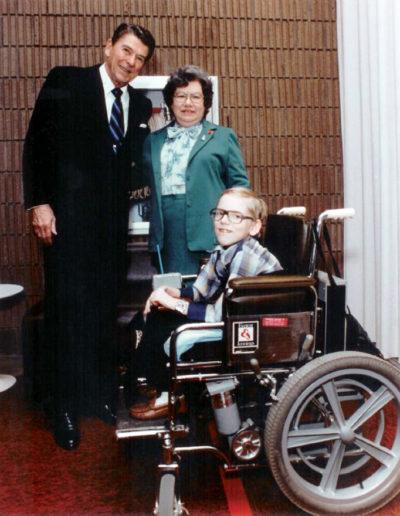Meeting with Ronald Reagan #3