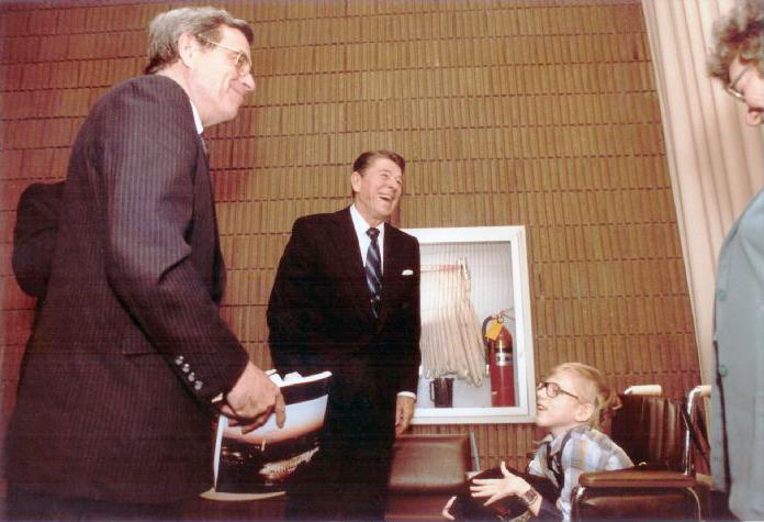 Meeting with Ronald Reagan #2