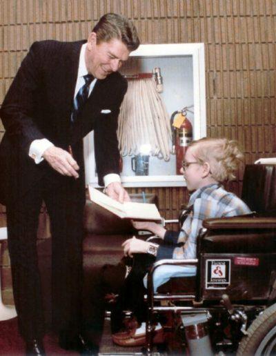 Meeting with Ronald Reagan #1